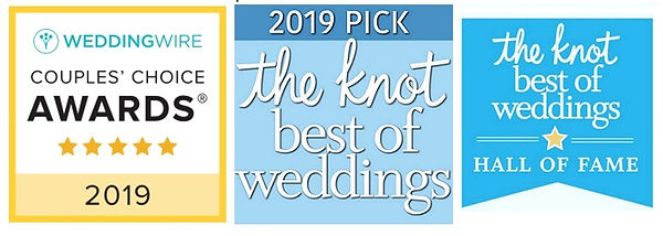 2019 WeddingWire THe Knot Award HALL OF