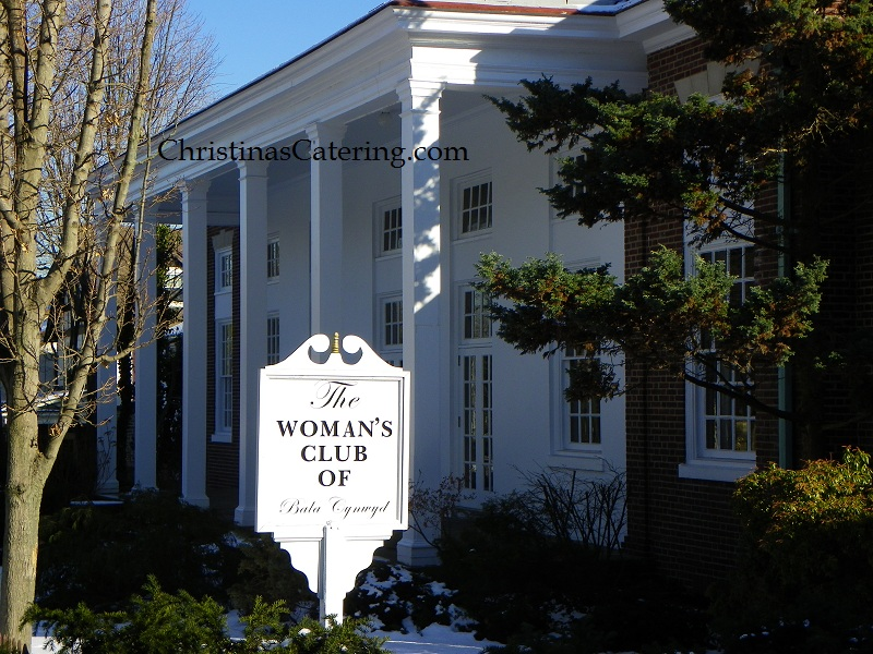 womands club christinas catering