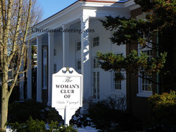 Womans Club Christinas Catering