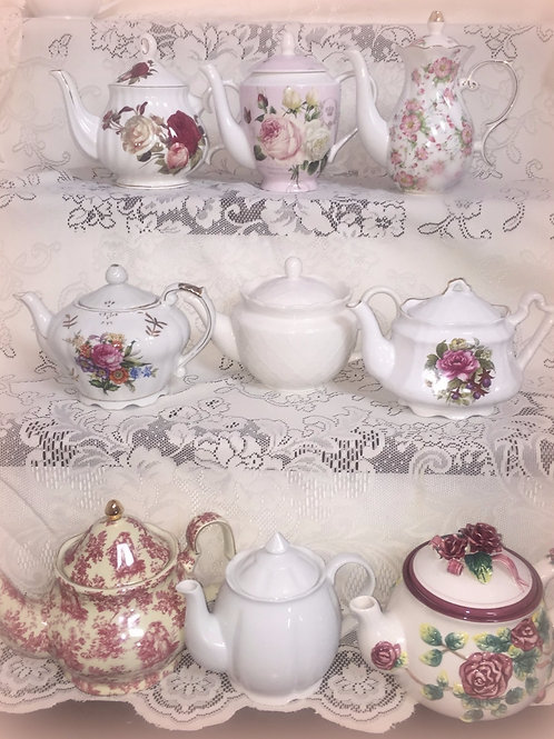 TEAPOTS -Collection