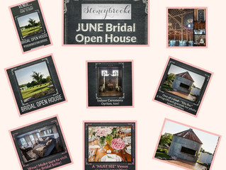Bridal Open House - Elegant Event Settings at The Barn at Stoneybrook