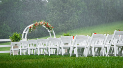 outdoor ceremony christinas catering