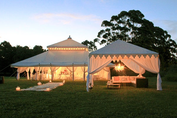 Tented Reception Options