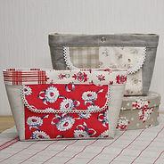 カードポケット付きバッグインバッグの作り方・型紙
