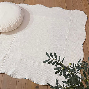 スカラップミニキルトの作り方・型紙