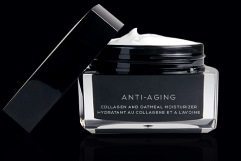 Anti-aging — collagen and oatmeal moisturizer
