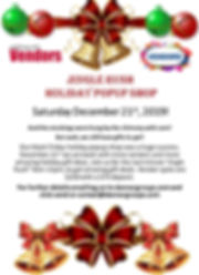 Jingle Rush Holiday Pop Up Shop flyer.jp