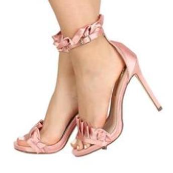Pink Strappy Stiletto