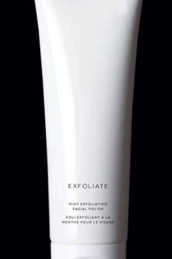 Exfoliating facial polish
