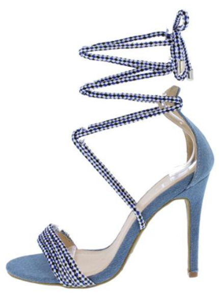 Braided Rope Stiletto