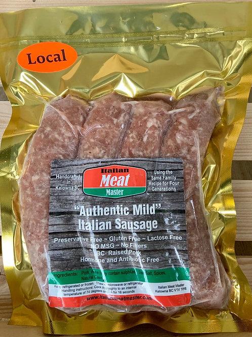 Authentic Mild Italian