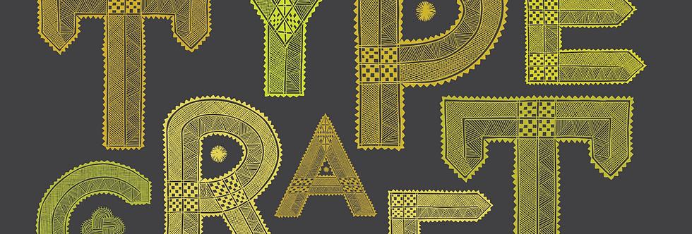 Chittara Typecraft (digital poster)