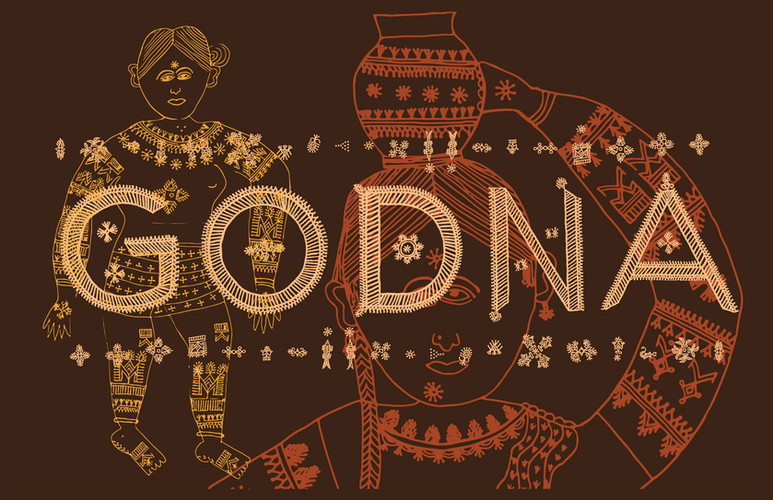 Godna, means tattoo