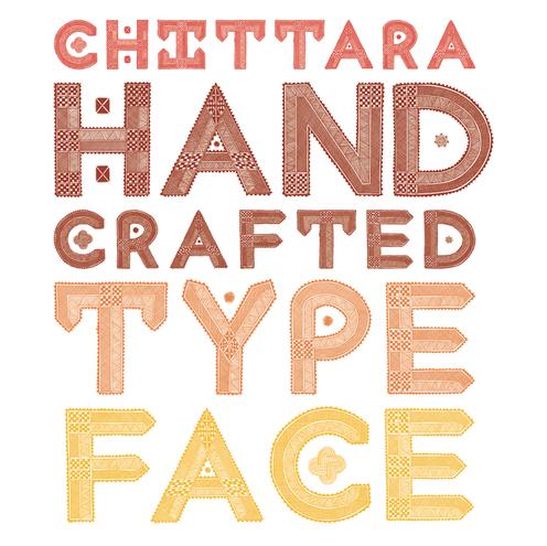 Chittara Floor Ritual Font