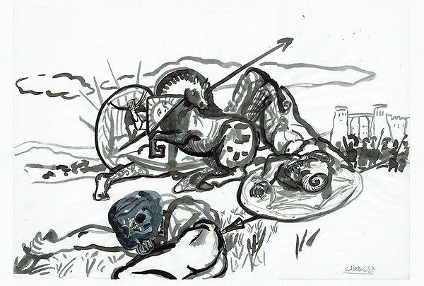 Carlos Franco Drawings