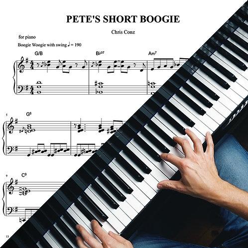 PETE'S SHORT BOOGIE