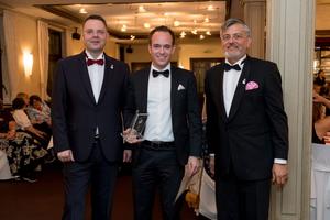 Gewinner des Preises «German Boogie-Woogie Award PINETOP», als Pianist des Jahres 2017.