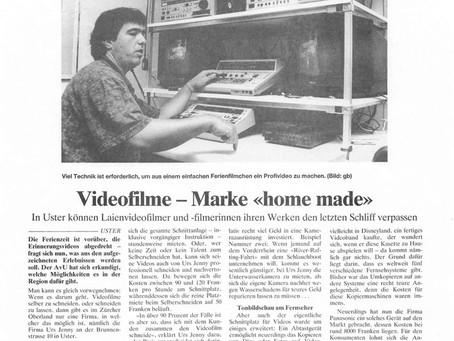 """Videofilme - Marke """"home made"""""""