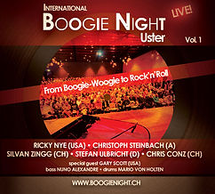 CD-Cover - Internatinal Boogie Nights Uster Vol. 1