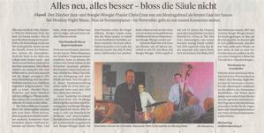 Eine kleine Grösse der Schweizer JazzSzene: Chris Conz beehrte am Montag Flawil.
