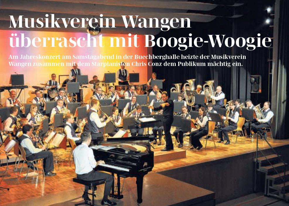 Boogie-Woogie in Wangen SZ