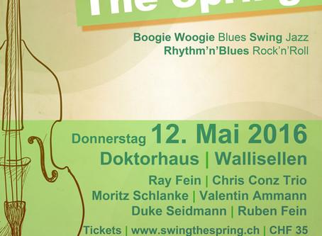 Swing The Spring: Eine eigene Musikshow für Wallisellen