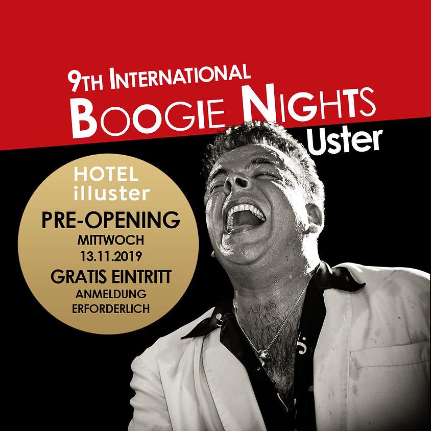 Pre-Opening - International Boogie Nights Uster