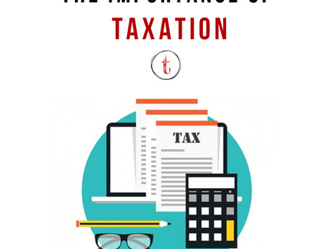 The Importance of Taxation