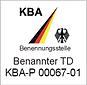 KBA Benannter Technischer Dienst Logo Medizinprodukte, CEcert GmbH, Akkrediterung, Prüflabor, Medizingeräte, Medizinprdukte, CBTL, UL Demko, UL, CE, Konformitätsprüfung, Wismar, Schwerin Rostock, Lübeck, Hamburg, Bremen, Niedersachsen, Mecklenburg-Vorpommern, Mecklenburg, Norddeutschland