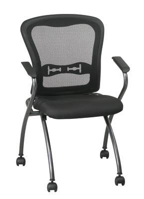 84440:  Mesh Nesting Guest Chair