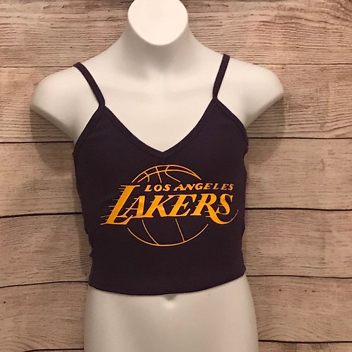 Lakers Crop Top
