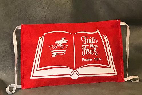 Faith Over Fear 3M Filtered Mask