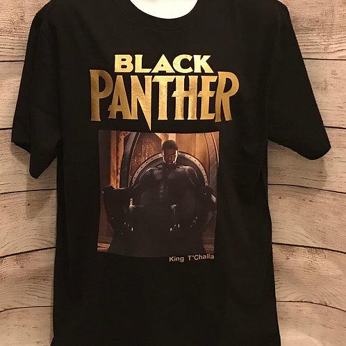 Black Panther T-Shirt (Medium)