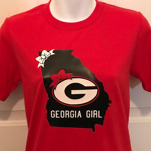 Georgia Peaches  it's time for your custom tee