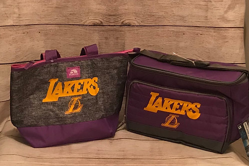 His and Hers Lakers LunchTotes