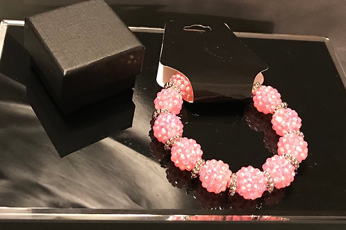 Pink Berry Bracelet