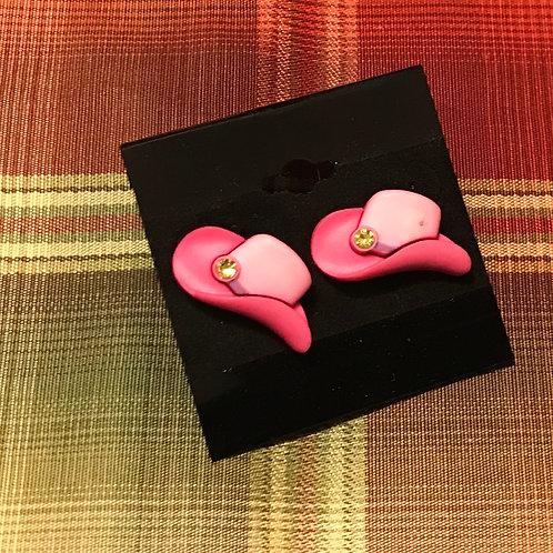 Pink on Pink Cowboy Earrings