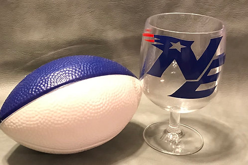 Acrylic Team Goblet (Football NOT included)