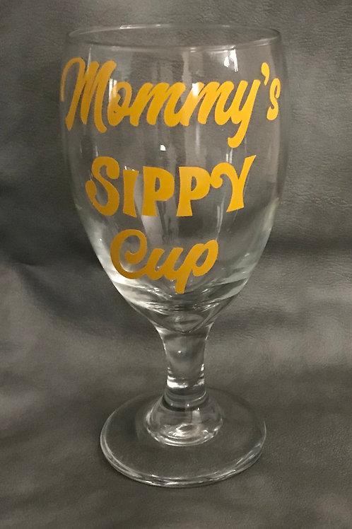 Mommy's Sippy Cup (Glass 10oz