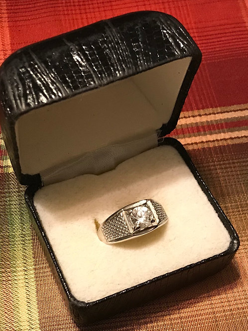 Mens Silver Ring(Size 11)