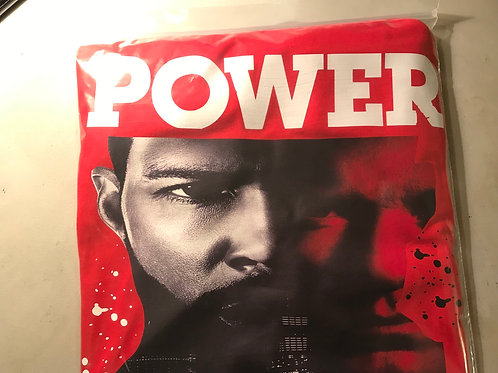 Power T-Shirt Red Adult Sizes