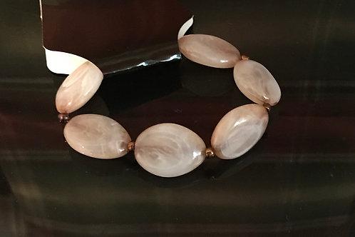 Tan Swirl Bracelet