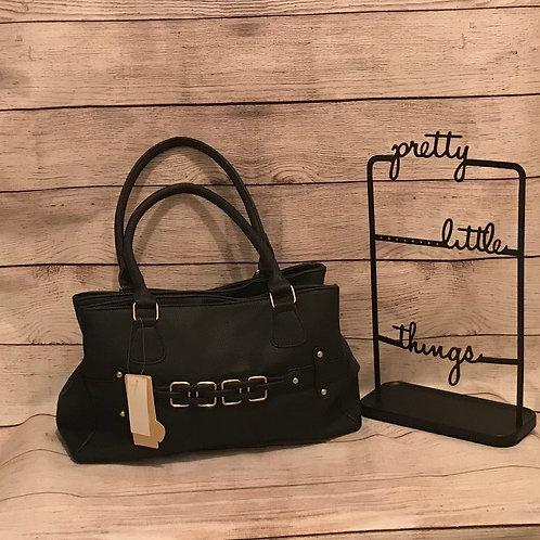 Four Buckle Handbag
