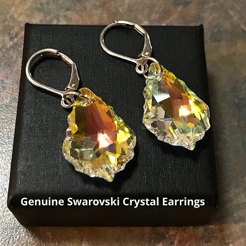 Genuine Swarovski Crystal Earrings
