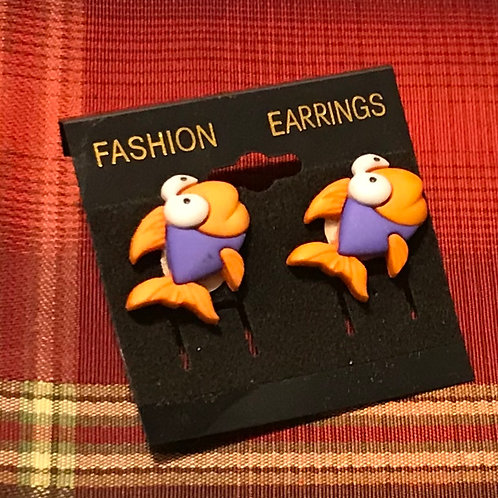 Fish Earrings (Youth)