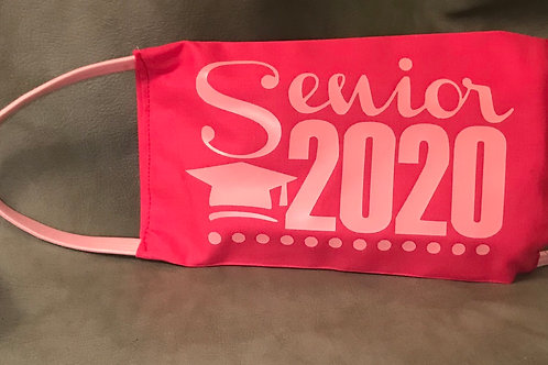 Senior Class 2020 3M Filtered Mask