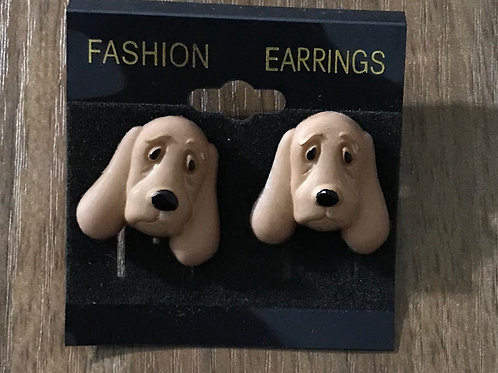 Sad Doggie Earrings