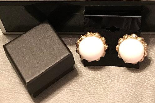 Antique Type Clip on Earrings