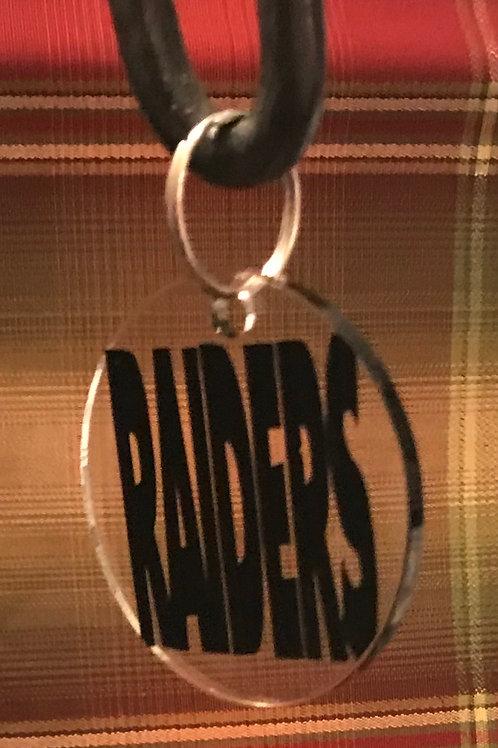 Acrylic Raiders Key Ring