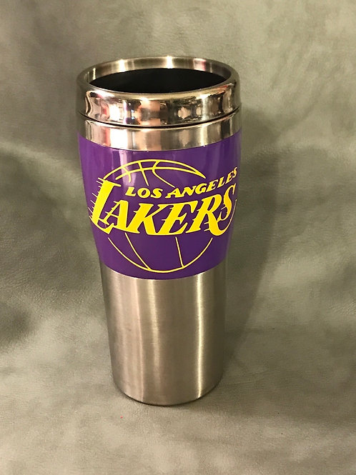 Lakers 15oz. Stainless Steel Tumbler
